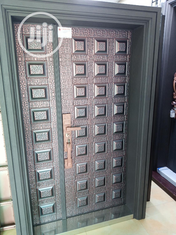 Armored Copper Door. (Weather Proof)
