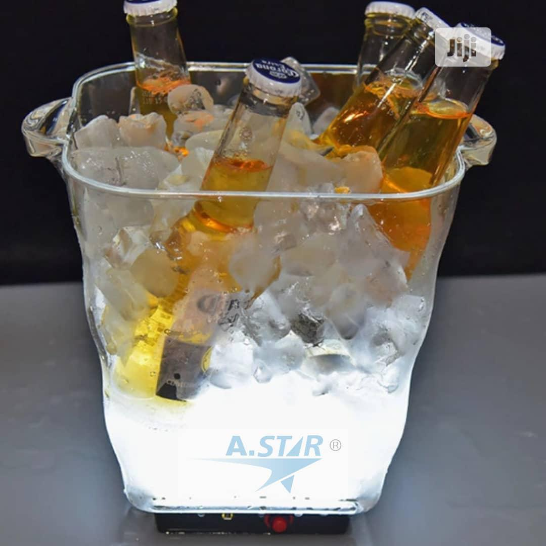 Acrylic Led Champagne Bucket Charging Type | Kitchen & Dining for sale in Ojo, Lagos State, Nigeria