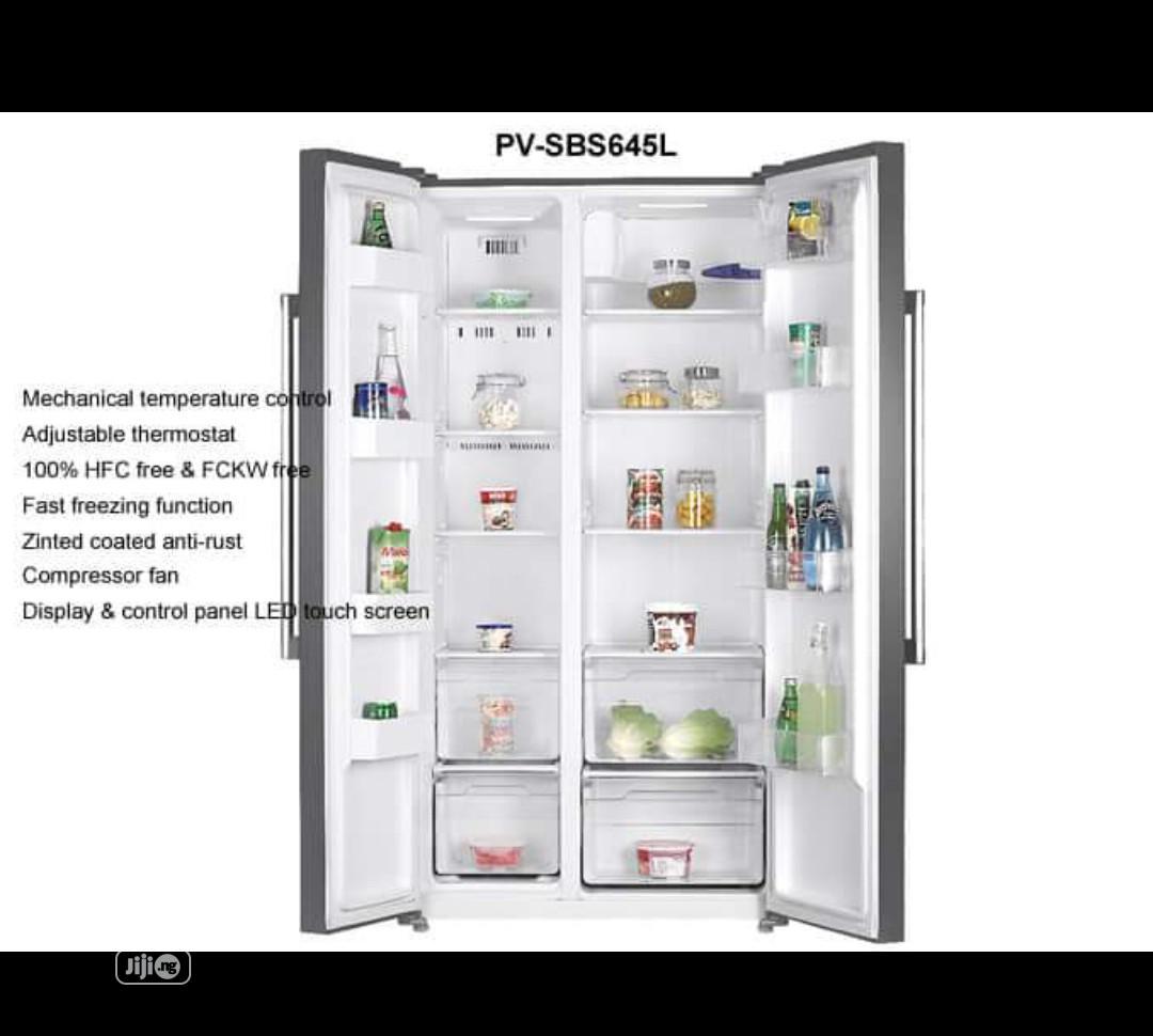 ® Said By Said Midea Refrigerator( 510 L ) Inverter Compressor