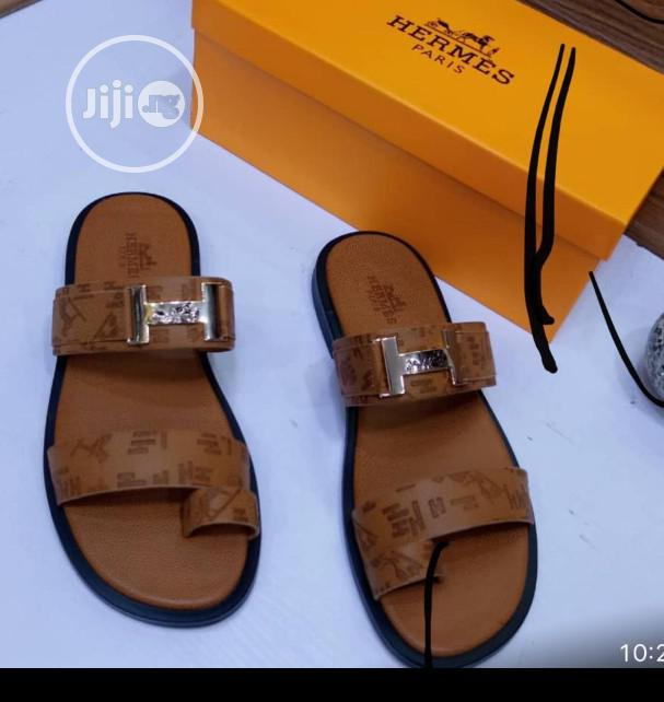 Hermes Palm Slippers | Shoes for sale in Lagos Island, Lagos State, Nigeria