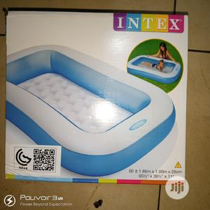 Kids Inflatable Swimming Pool Size 1.66m X 1.00m X 22cm | Sports Equipment for sale in Lagos State, Surulere