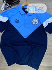 Manchester City Puma Iconic MCS Polo Shirt (Peacot) | Clothing for sale in Lagos State, Lagos Island