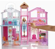Barbie Three Story House With Pop-up Umbrella | Toys for sale in Lagos State, Ajah