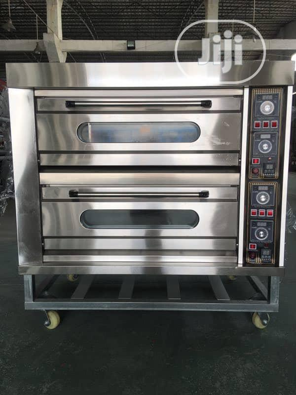2deck 4trays Gas Oven