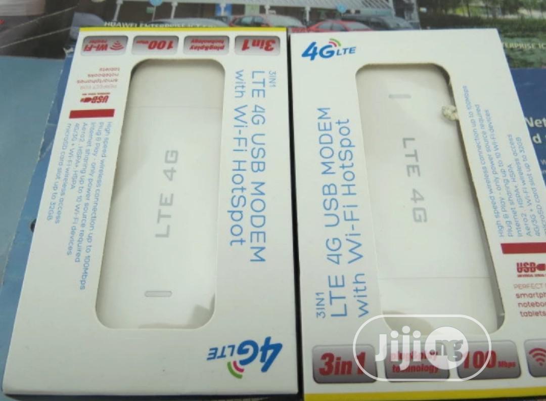 Universal 4G LTE USB Modem With Wi-fi Hotspot, Plug & Play