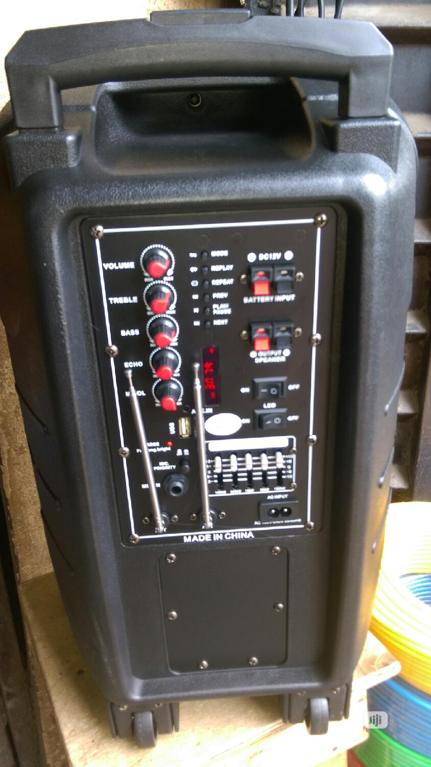 """Rechargeable Imc 15"""" Pa System"""