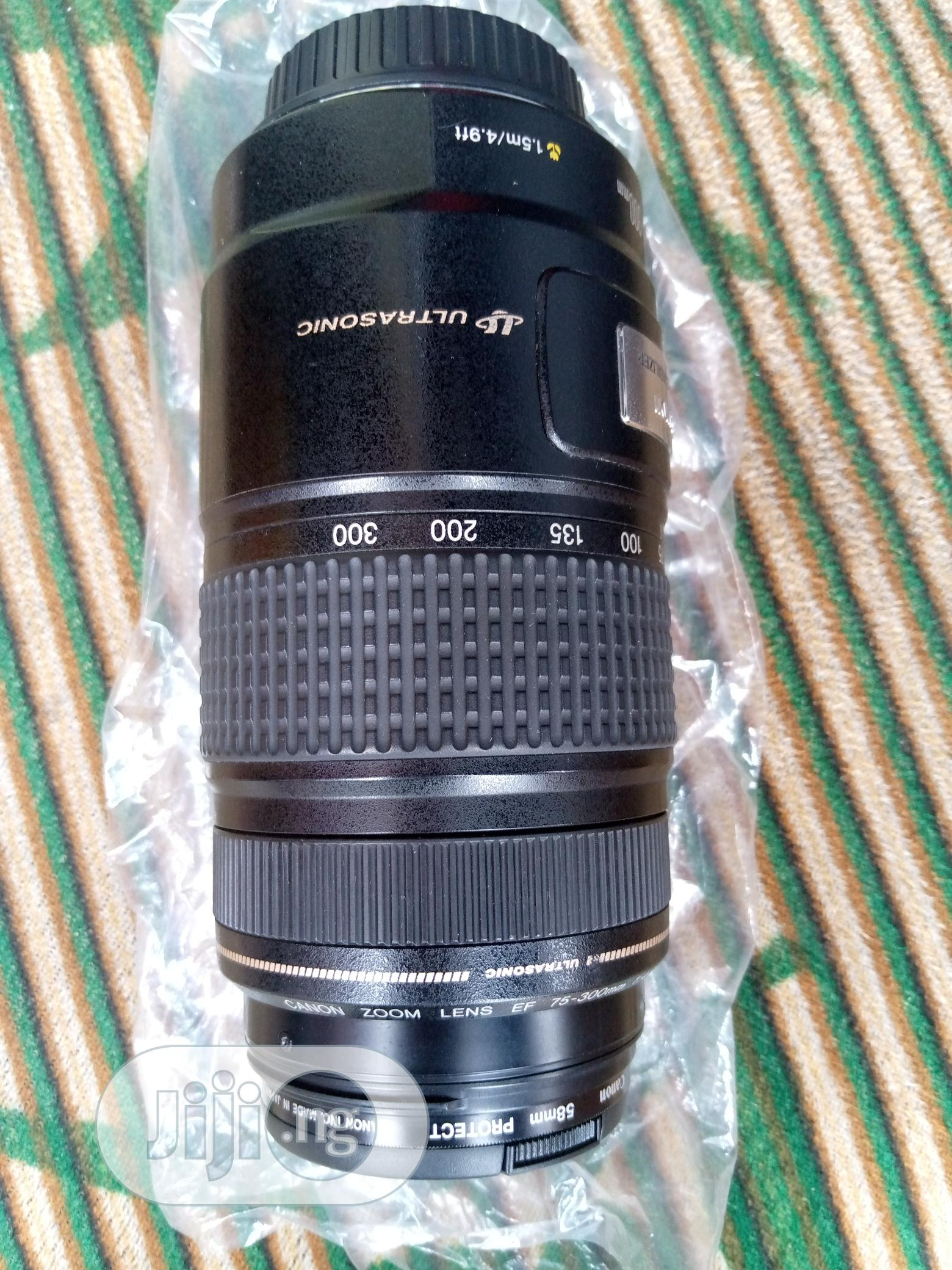 Canon Lens 75-300mm | Accessories & Supplies for Electronics for sale in Ikeja, Lagos State, Nigeria