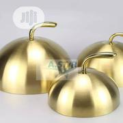 Gold Plated Plate Cover | Kitchen & Dining for sale in Lagos State, Ojo