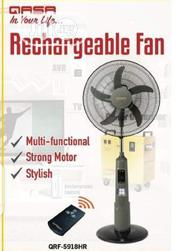 Qasa Rechargeable Fan   Home Appliances for sale in Lagos State, Ojo