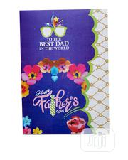 Father'S Designed Day Card -purple, And Multi-21cm By 15cm | Stationery for sale in Lagos State, Ojota