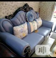 Royal Wooden Italian Leather Material By7 (1+1+2 +3) | Furniture for sale in Lagos State, Lekki Phase 1