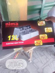 Nima Japan Electric 12litres Deep Fryer | Kitchen Appliances for sale in Lagos State, Ikeja