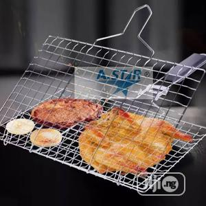 Barbecue Stainless Steel Grill   Kitchen Appliances for sale in Lagos State, Ojo