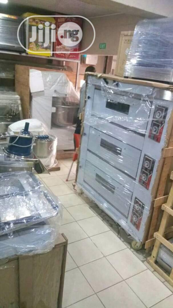 6trays Gas Oven In Stock