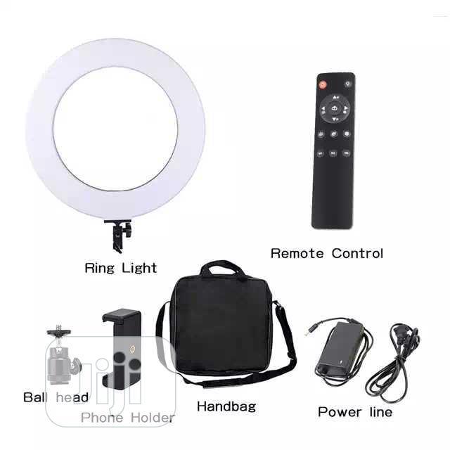 18inches Automatic Rechargeable Ringlight