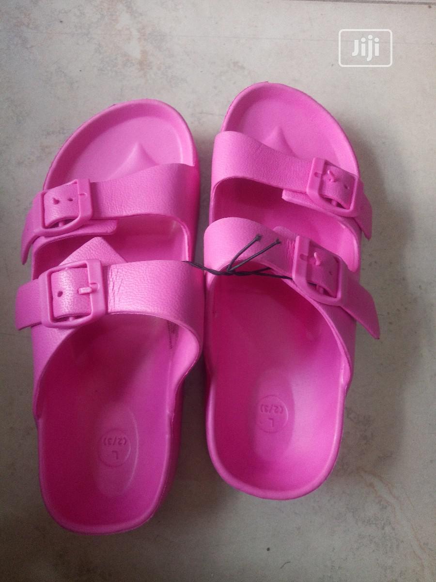 Girls Buckle Sandals - US 11/12, 2/3
