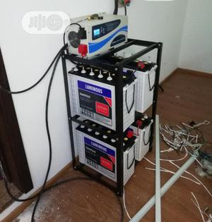 12v 220ahs Luminous Tubular Battery | Solar Energy for sale in Lagos State, Ojo