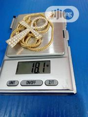 18karat Chain With Cross Pendant | Jewelry for sale in Lagos State, Yaba