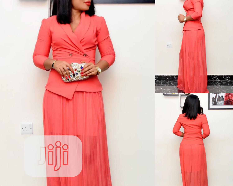 Orange Turkey Dress | Clothing for sale in Lagos Island, Lagos State, Nigeria