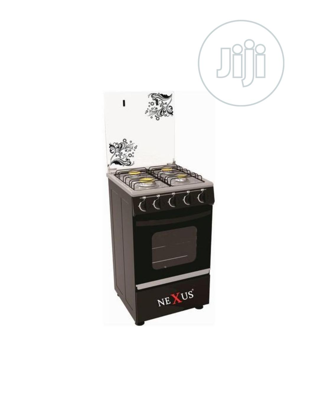 Nexus Gas Cooker 4 Burner- Nx5055b