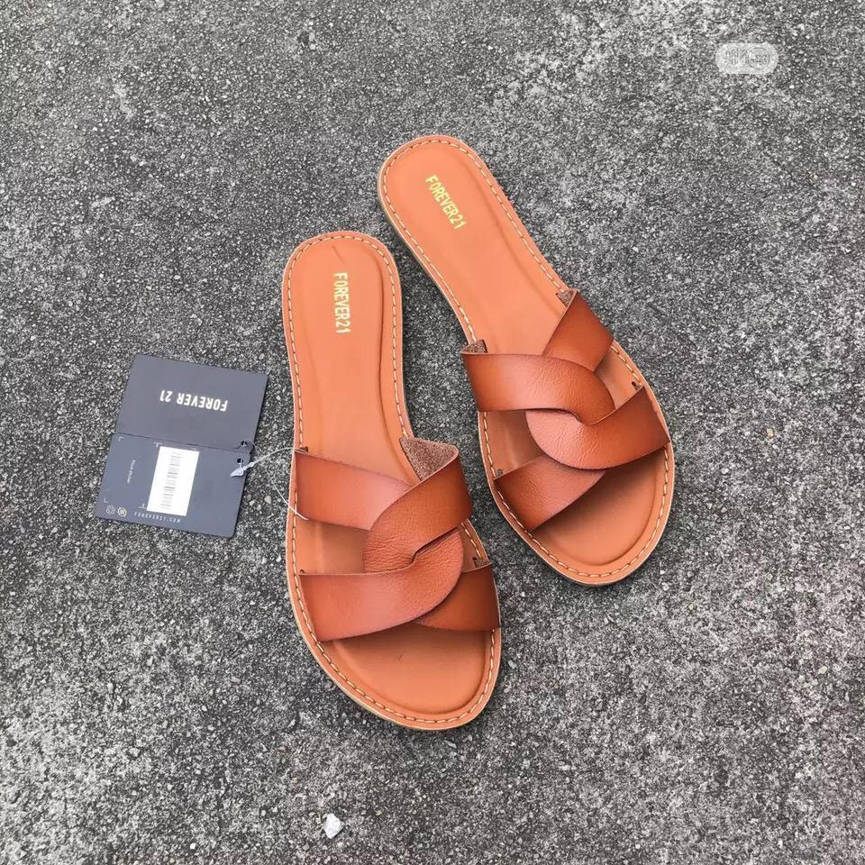 Original FOREVER21 Slippers, Elegant Classy Design | Shoes for sale in Wuse, Abuja (FCT) State, Nigeria