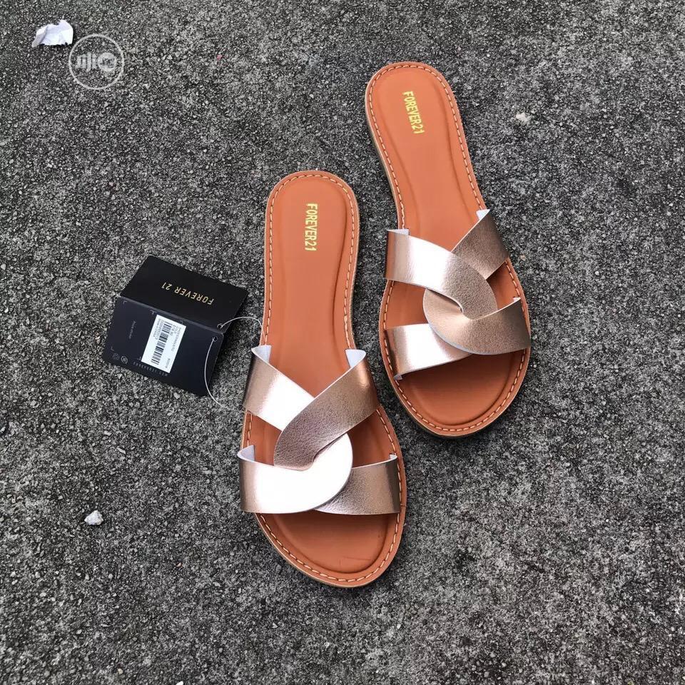 Original FOREVER21 Slippers, Elegant Classy Design