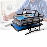Durable File Tray A4 Document Holder A4 Copy Paper Tray 3 Layers Metal | Stationery for sale in Lagos State, Lagos Island