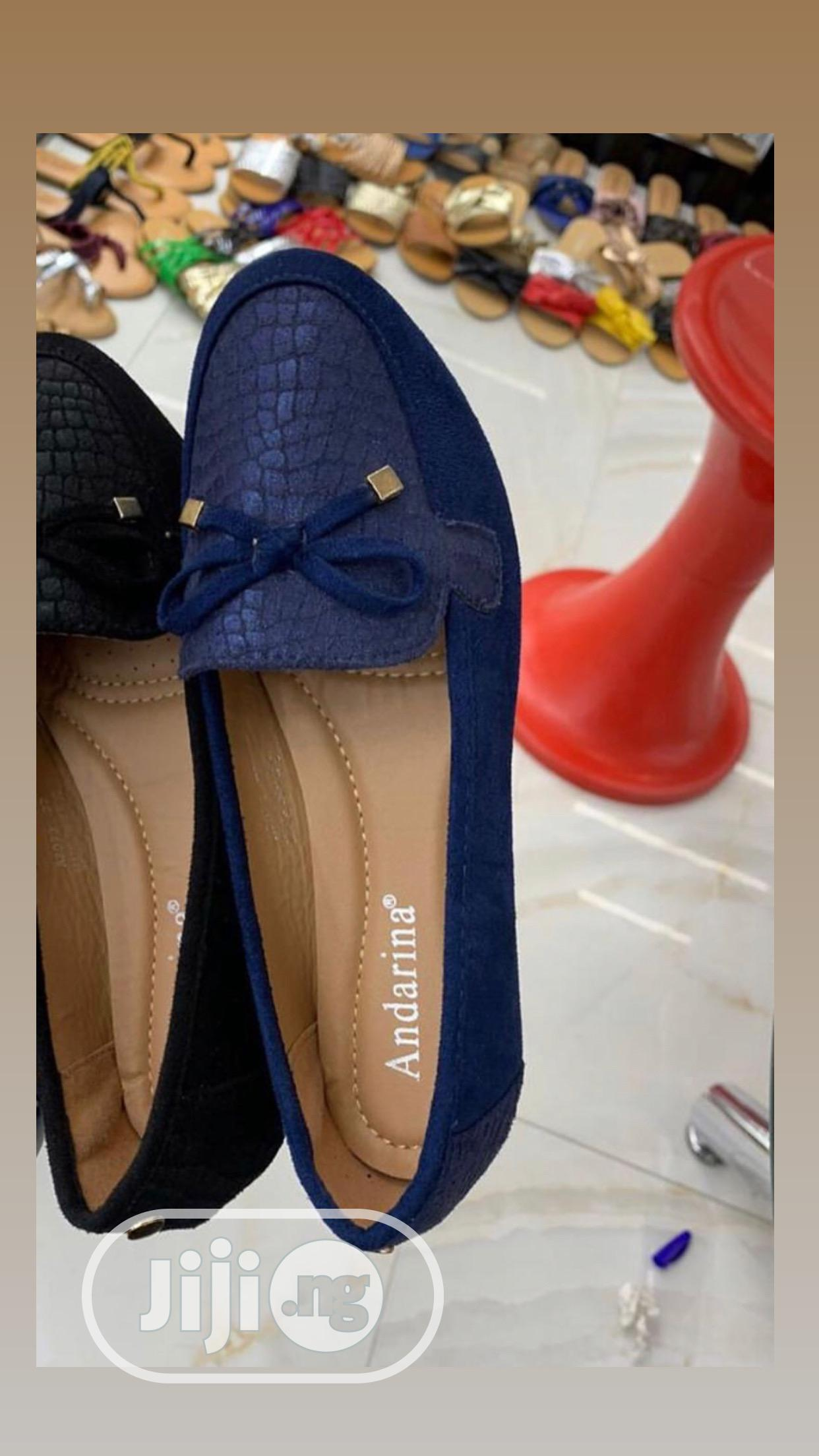Archive: Navyblue Flat Shoes
