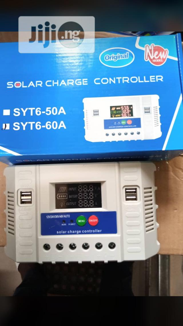 Archive: 60ah Charge Controller With One Year Warranty