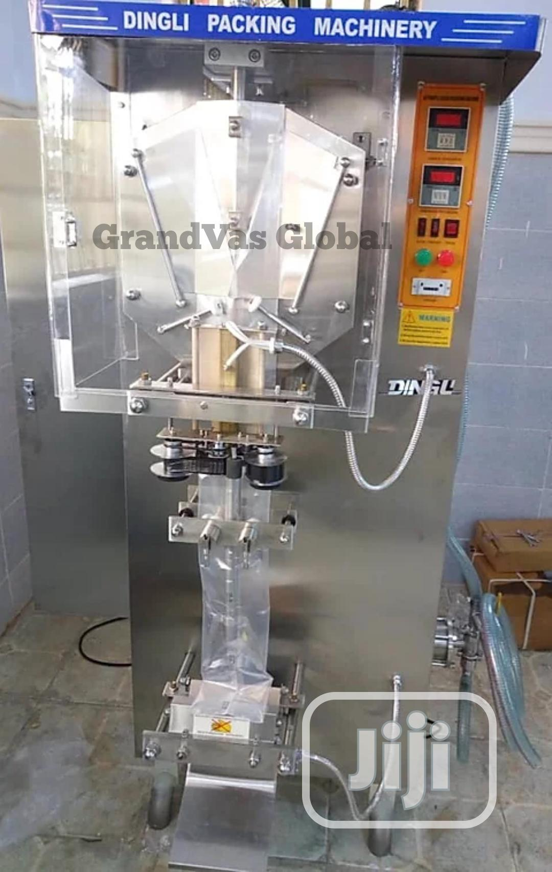 Pure Water Packaging Machine