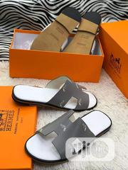 Quality Mens Ash Slide Hermes | Shoes for sale in Lagos State, Lagos Island