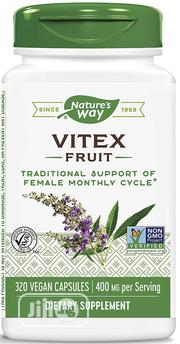 Nature's Way Vitex; 400 Mg; Non-Gmo, 320 Capsules | Vitamins & Supplements for sale in Lagos State, Lekki Phase 1
