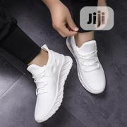 Plain White Sneakers | Shoes for sale in Lagos State, Ajah