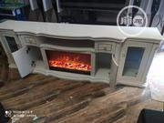 Quality Fire Place Tv Stand | Furniture for sale in Lagos State, Lekki Phase 1