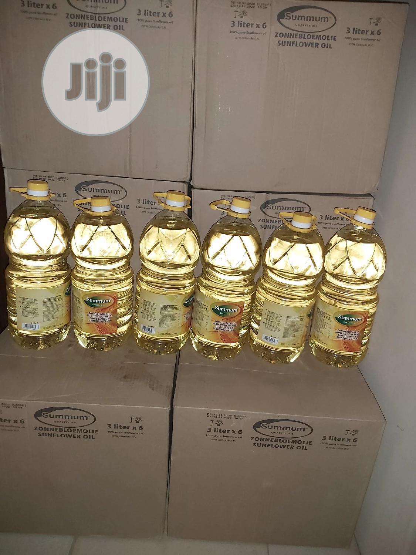 Summun Sunflower Oil 3litres*6