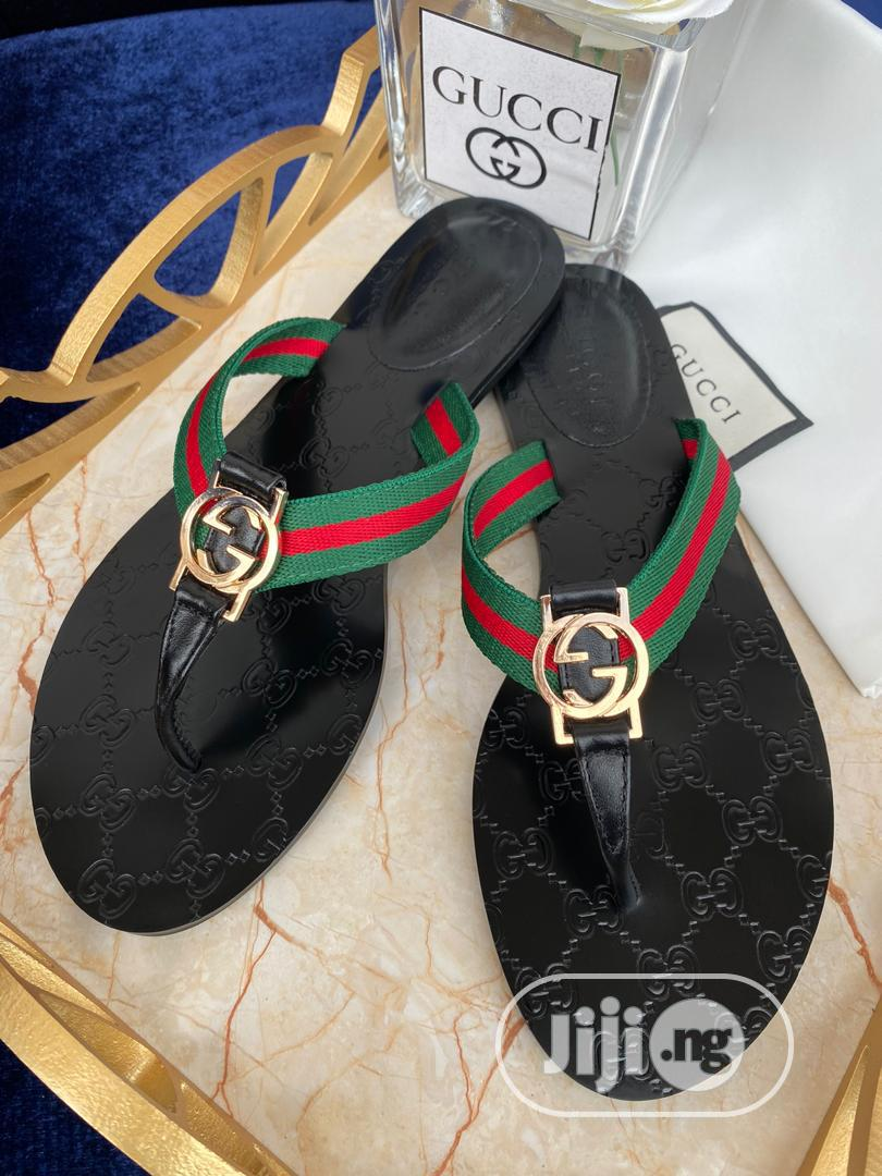Top Quality Gucci Designer Slippers | Shoes for sale in Magodo, Lagos State, Nigeria