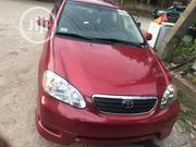 Toyota Corolla 2006 S Red | Cars for sale in Lagos State, Lekki Phase 2