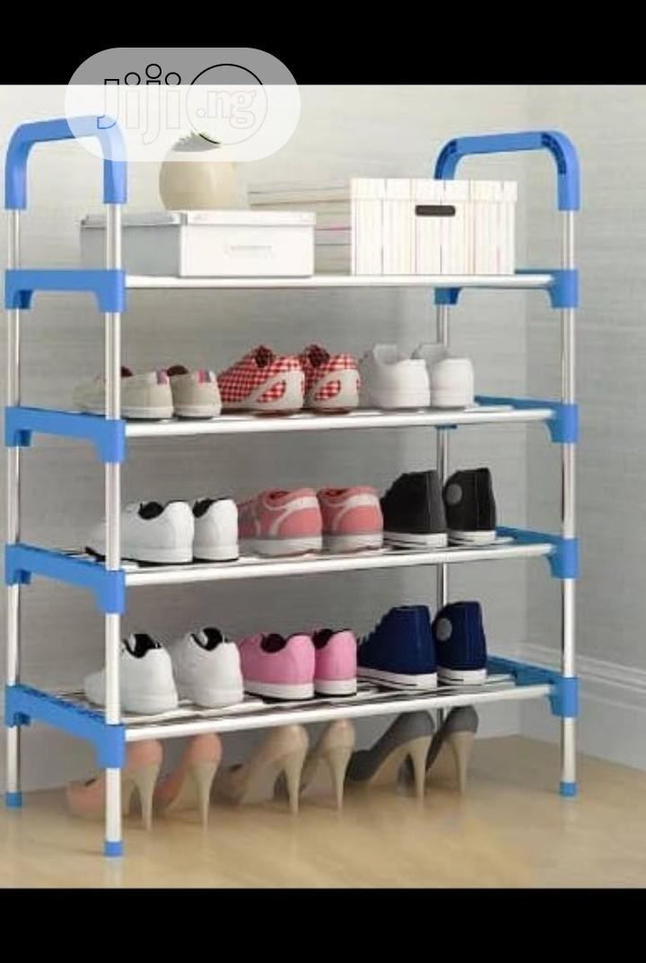 High Quality Stainless Shoe Rack