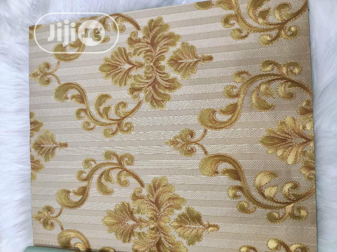 3D Gold Wallpaper
