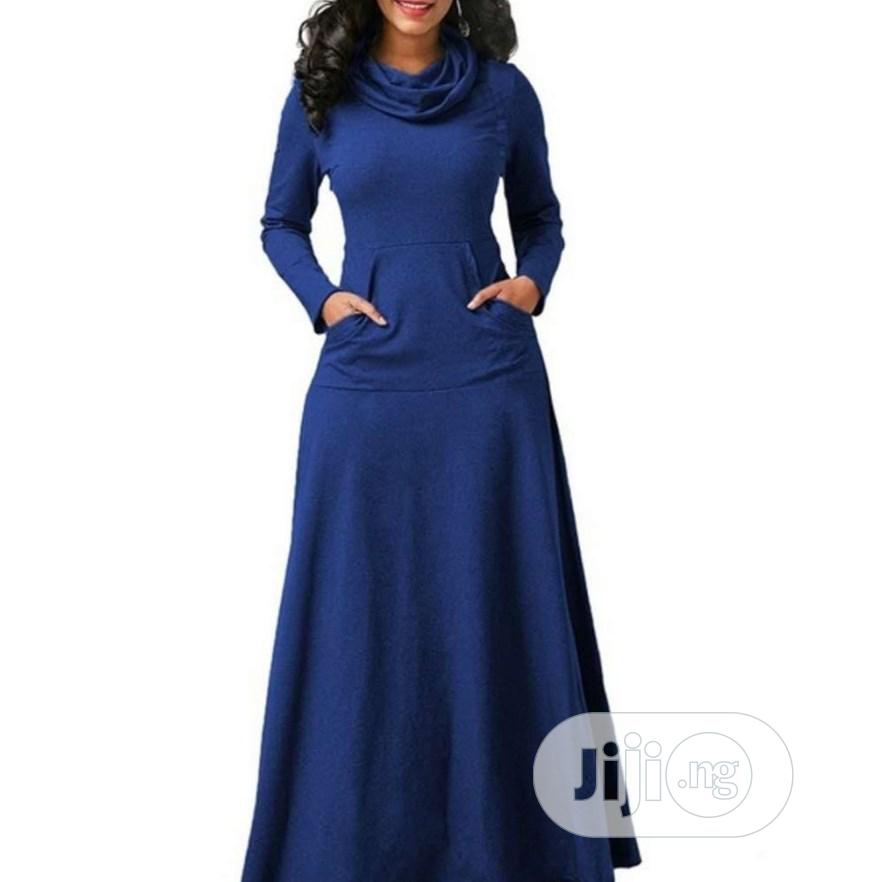 Beautiful Turtle Neck Gown