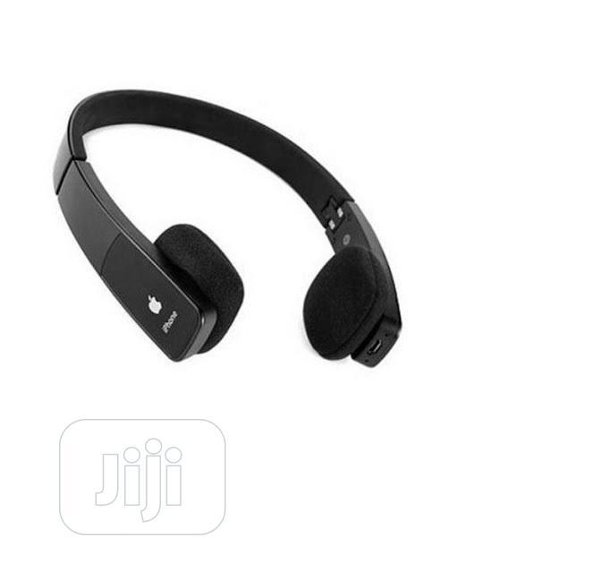 Apple H610 Wireless Folding Bluetooth Stereo Headset Headphone H610 In Ikeja Headphones Gadget Suite Jiji Ng For Sale In Ikeja Buy Headphones From Gadget Suite On Jiji Ng
