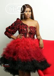 Red-Ombre Tulle Dress | Clothing for sale in Lagos State, Shomolu