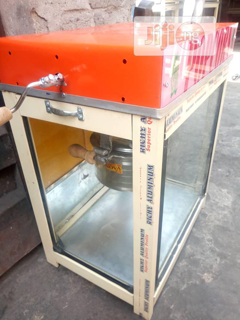Popcorn Making Machine Gas Type