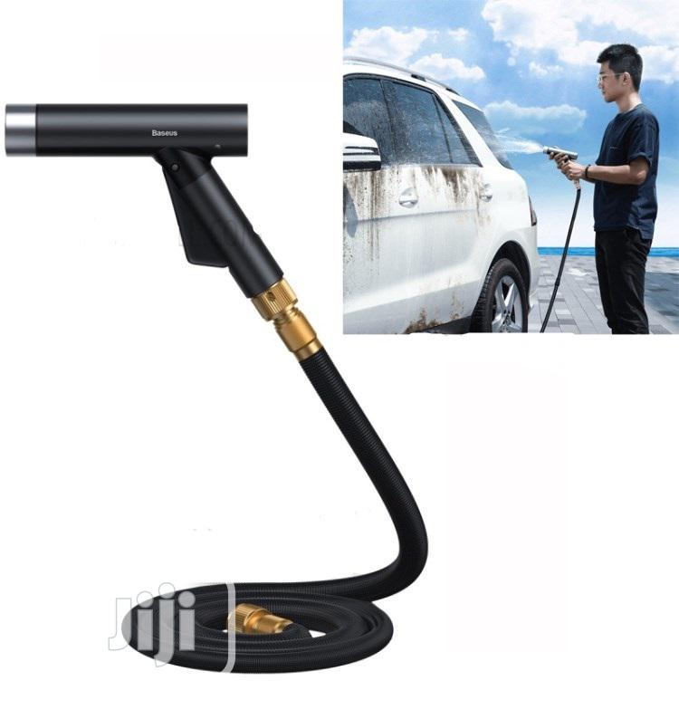 Baseus Simple Life Car Wash Spray Nozzle (With Magic Telescopic Water