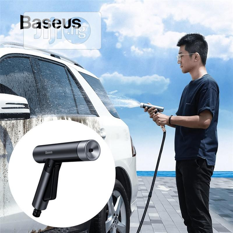 Baseus Simple Life Car Wash Spray Nozzle (With Magic Telescopic Water | Garden for sale in Ikeja, Lagos State, Nigeria