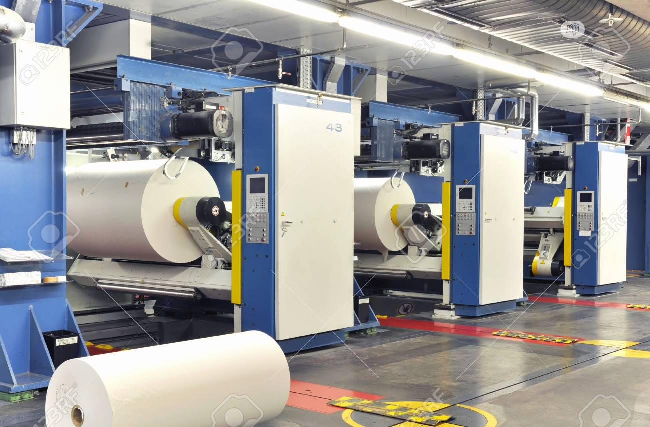 Modern Offset Printing Machines In A Large Printing Plant | Printing Equipment for sale in Alimosho, Lagos State, Nigeria