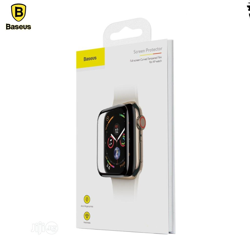 Baseus Curved Screen Protector for Iwatch - 38mm 42mm   Accessories for Mobile Phones & Tablets for sale in Ikeja, Lagos State, Nigeria