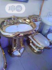 Gold Plated Executive WC Sets   Plumbing & Water Supply for sale in Lagos State, Orile