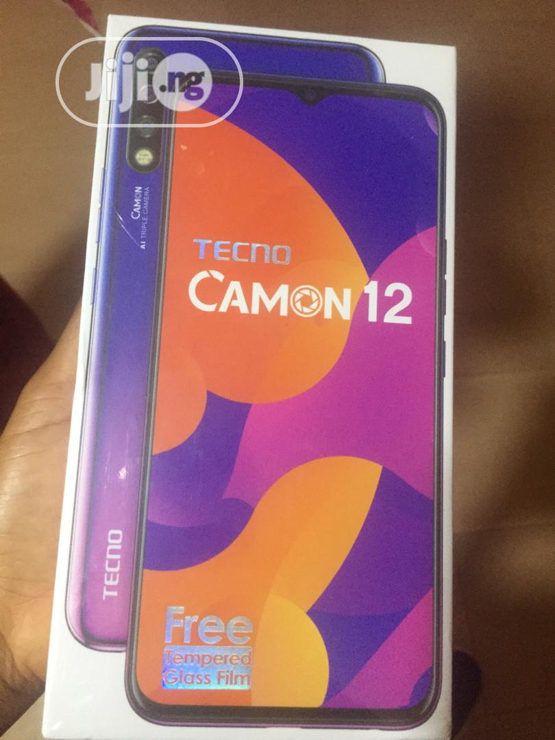 New Tecno Camon 12 64 GB Black | Mobile Phones for sale in Badagry, Lagos State, Nigeria