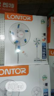 """18""""Lontor Rechargeable Fan   Home Appliances for sale in Lagos State, Ojo"""